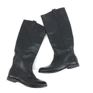 Madewell Archive Knee High Riding Tall Boot Black